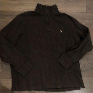 XL Ralph Lauren Brown Quarter Zip
